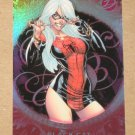 Marvel Dangerous Divas (Rittenhouse 2011) Sultry Seductresses Card S1- Black Cat VG