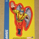 70 Years of Marvel Comics (Rittenhouse 2010) Sticker Card S16- Angel EX-MT