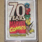 70 Years of Marvel Comics (Rittenhouse 2010) - Full 72 Base Card Set EX