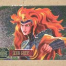 Flair '95 Marvel Annual (Fleer 1995) PowerBlast Card #7- Jean Grey EX