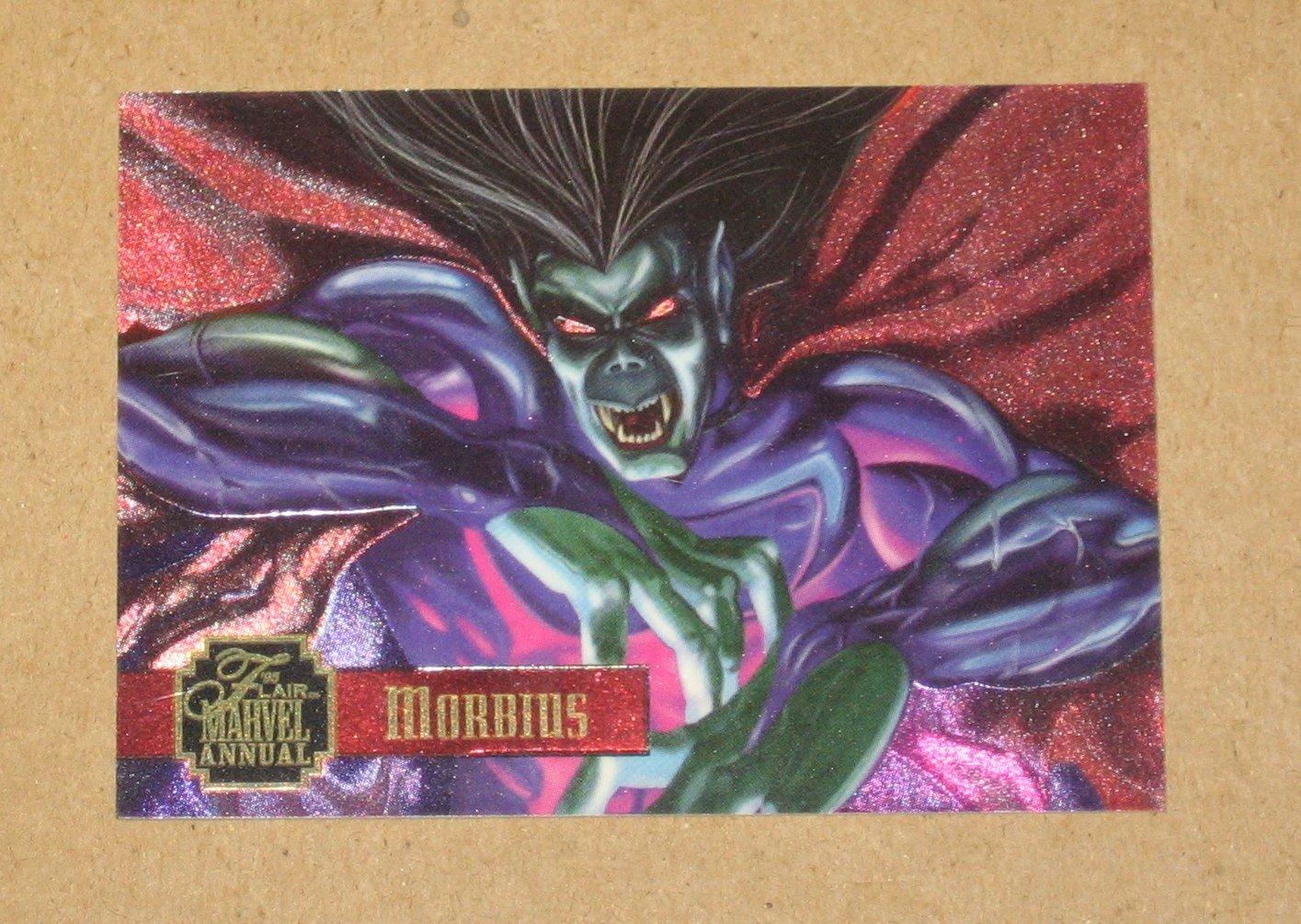 Flair '95 Marvel Annual (Fleer 1995) PowerBlast Card #10- Morbius VG