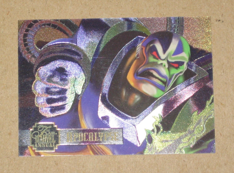 Flair '95 Marvel Annual (Fleer 1995) PowerBlast Card #11- Apocalypse VG