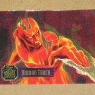 Flair '95 Marvel Annual (Fleer 1995) PowerBlast Card #13- Human Torch VG