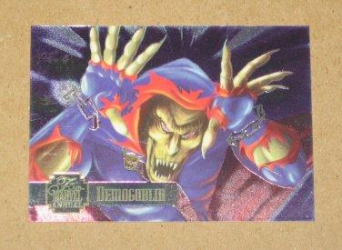 Flair '95 Marvel Annual (Fleer 1995) PowerBlast Card #23- Demogoblin VG