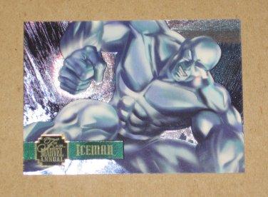 Flair '95 Marvel Annual (Fleer 1995) PowerBlast Card #18- Iceman EX