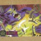 Flair '95 Marvel Annual (Fleer 1995) PowerBlast Card #12- Beast EX