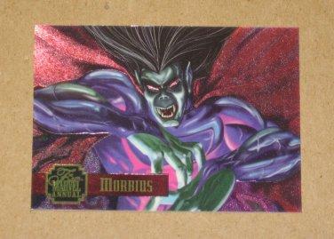 Flair '95 Marvel Annual (Fleer 1995) PowerBlast Card #10- Morbius EX