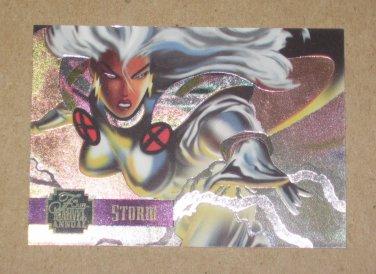 Flair '95 Marvel Annual (Fleer 1995) PowerBlast Card #5- Storm EX