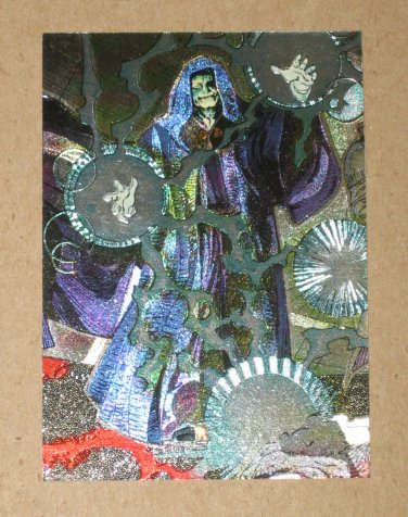 Star Wars Galaxy Series 2 (Topps 1994) Etched Foil Card #9- Emperor VG
