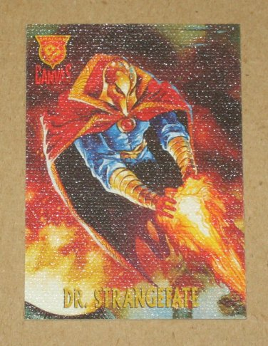 Amalgam (Fleer/SkyBox 1996) Canvas Card #1- Doctor Strangefate EX-MT