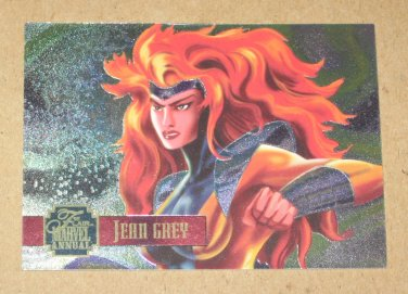 Flair '95 Marvel Annual (Fleer 1995) PowerBlast Card #7- Jean Grey VG