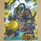 Marvel Metal (Fleer 1995) Card #136- Venom EX