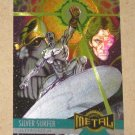 Marvel Metal (Fleer 1995) Card #133- Silver Surfer EX