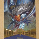 Marvel Metal (Fleer 1995) Card #119- Storm EX