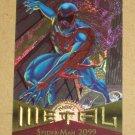 Marvel Metal (Fleer 1995) Card #53- Spider-Man 2099 EX