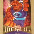 Marvel Metal (Fleer 1995) Card #42- Thing EX
