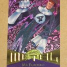 Marvel Metal (Fleer 1995) Card #36- Mr. Fantastic EX