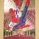 Marvel Metal (Fleer 1995) Card #78- Spider-Man EX-MT