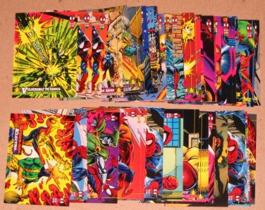Spider-Man, the Amazing (Fleer 1994) - Lot of 44 Cards VG