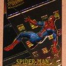 Spider-Man, Fleer Ultra (1995) Masterpieces Web Card #5- Spider-Man EX-MT