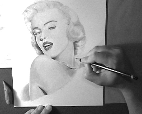 How to draw portraits - Portrait drawing video