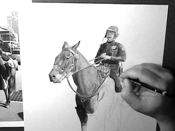 How to draw horses dvd - Horse drawing video