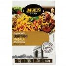 Sri Lankan Spices Ma's Kitchen Biriyani Masala Seasoning Mix 50g 1.8 oz for Chicken and Meats