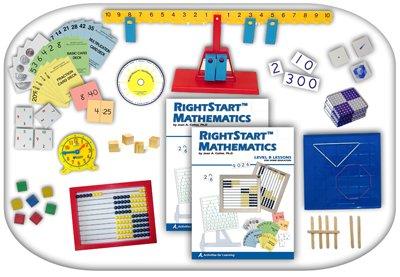 RightStart Math Starter Kit Level B