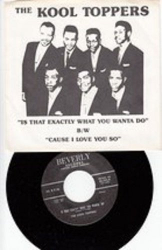 Kool Toppers ~ Is That Exactly What You Wanta' Do *Mint- PIC SLEEVE !