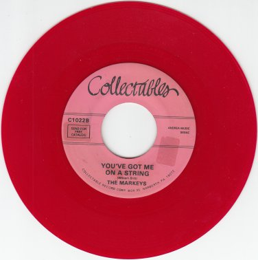 Markeys ~You Got Me On A String*Mint-RED WAX !