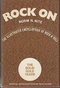 ROCK ON ~Illustrated Encyclopedia Of Rock & Roll~RARE 1ST ED/HB *