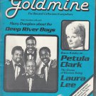 GOLDMINE ~ Magazine #38 Deep River Boys *