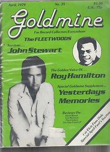 GOLDMINE ~ Magazine #35 John Stewart *