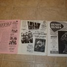 3 ~R&B R&R & Doo Wop Newsletter-Magazines *
