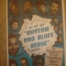 RHYTHM AND BLUES REVUE ~Poster