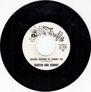 Marvin & Johnny~2nd Helping Of Cherry PieM-45 !