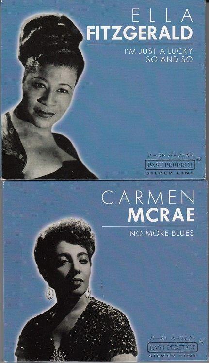 Ella Fitzgerald & Carmen Mcrae*Mint-CDs *