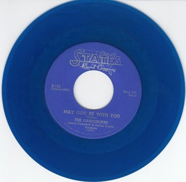 Danderliers ~May God Be With You*Mint-45 COLOR WAX !