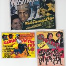Black Americana Movie Poster Magnets *
