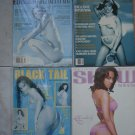 4 Full Color Beautiful Sexy Girls~Men's Mags *