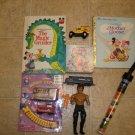 9 Rare Toys & Books *