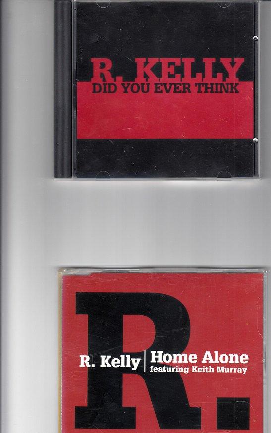 R. KELLY ~ 2 Mint-CD SINGLES !
