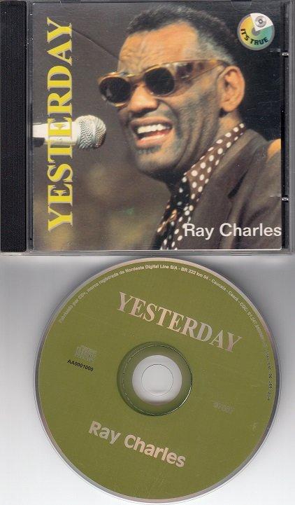 RAY CHARLES ~ Yesterday*RARE MINT-CD !