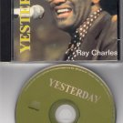 RAY CHARLES ~ Yesterday*RARE MINT-CD !