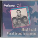 West Coast Vocal Group Treasures ~Volume 2*M-CD !