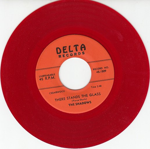 SHADOWS ~ There Stands The Glass*M-45*RARE RED WAX !