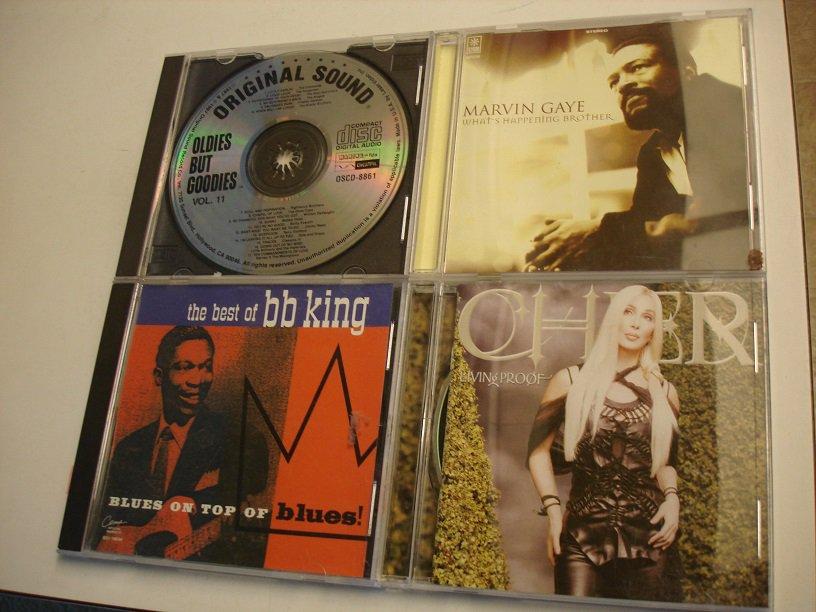 4 KOOL OLDIES CD's * -
