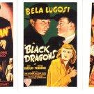 BELA LUGOSI ~ 3 1/2x2 1/2 Movie Poster Trading Cards* Mint- !