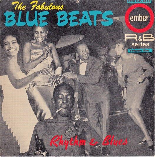 FABULOUS BLUE BEATS ~ Rhythm & Blues*VG EP Cover !