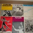 6 Rare Sheet Music !